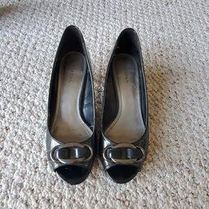 Merona Black Low Heels